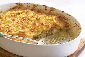 Cheesy & Creamy Potato Gratin Recipe   Easy Recipes For You